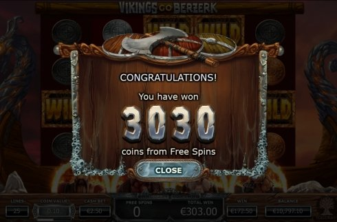 Free Spins Win Presentation